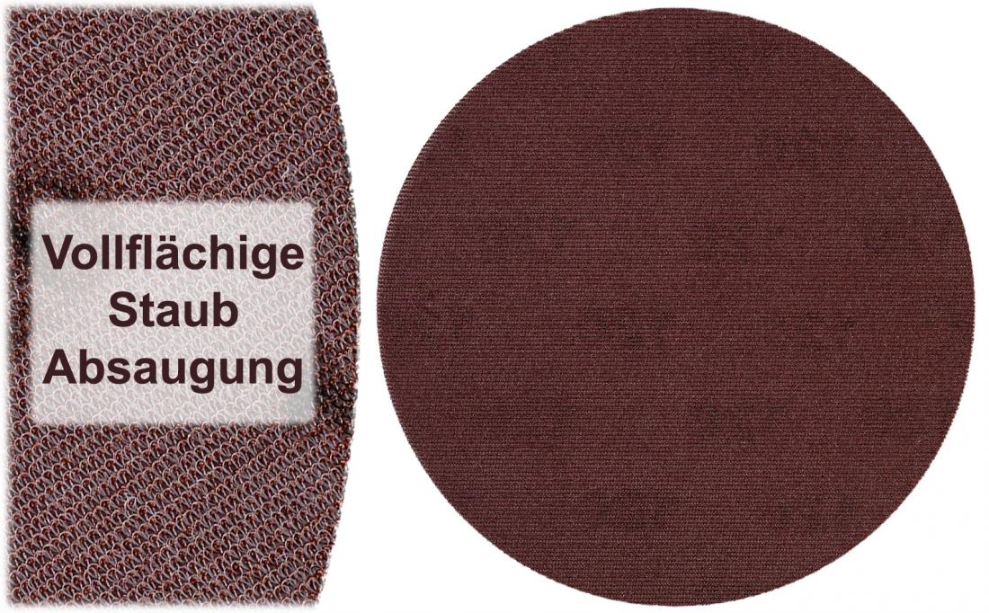 Colorus Klett Fein-Schleifscheibe PLUS für Rundschleifer Ø 225mm Aluminiumoxid