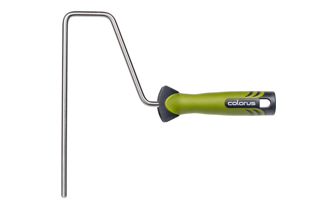 Colorus Farbwalzen Bügel PLUS Edelstahl 2K Comfort Griff für 25-27cm Farbrollen
