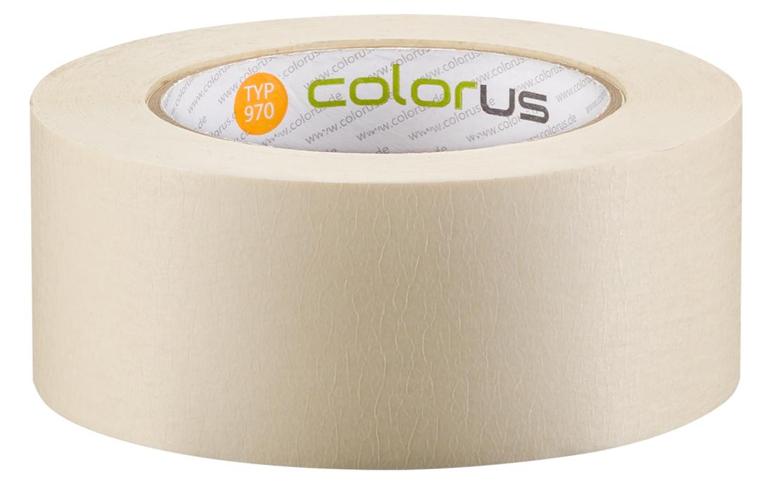 Colorus Feinkrepp PLUS Klebeband 80° 50m