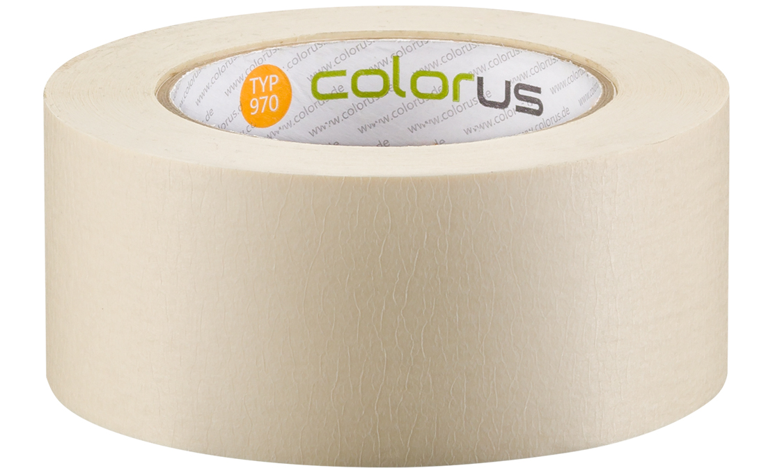 Colorus Feinkrepp PLUS Klebeband 90° 50m 50mm 50mm