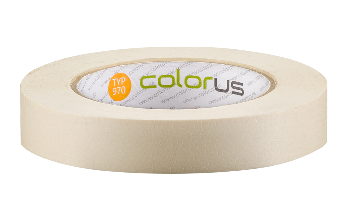 Colorus Feinkrepp PLUS Klebeband 90° 50m 19mm 19mm