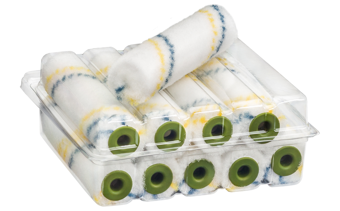 Colorus Lack Streif Solid PLUS KØ17 Heizkörperwalze 6mm Flor
