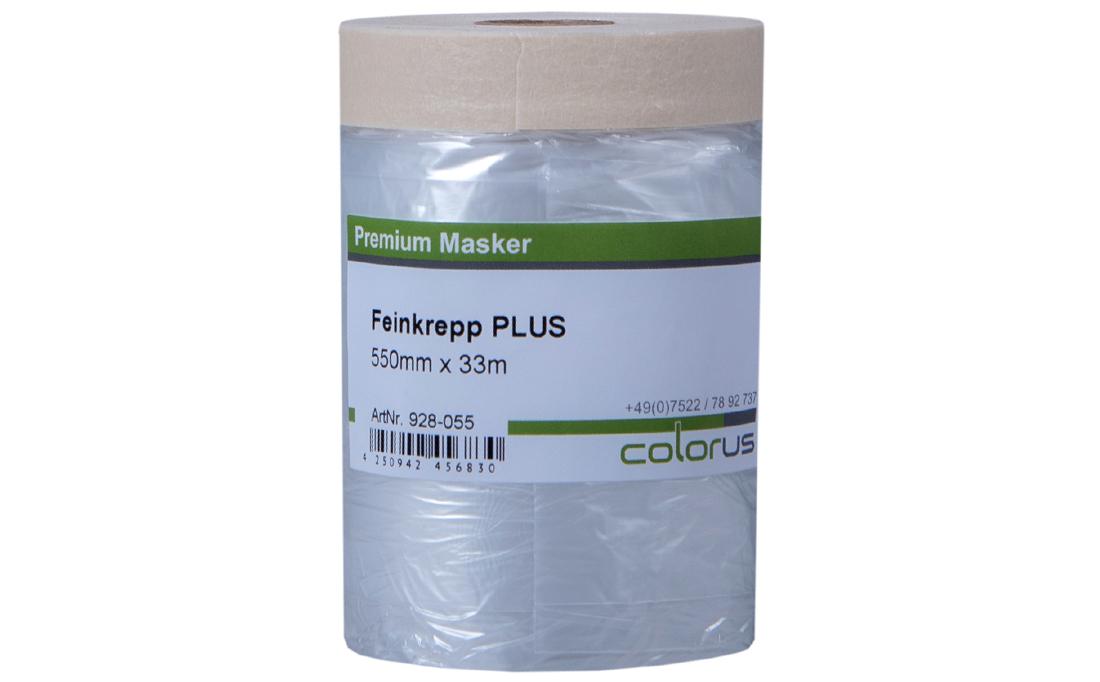 Colorus Masker Tape PLUS Feinkrepp 140cm x 33m 140cm x 33m