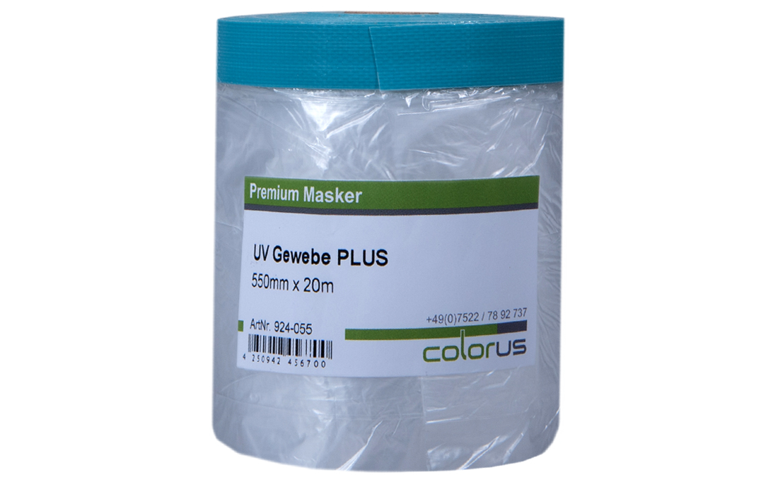 Colorus Masker Tape PLUS UV Gewebe 110cm x 20m 110cm x 20m