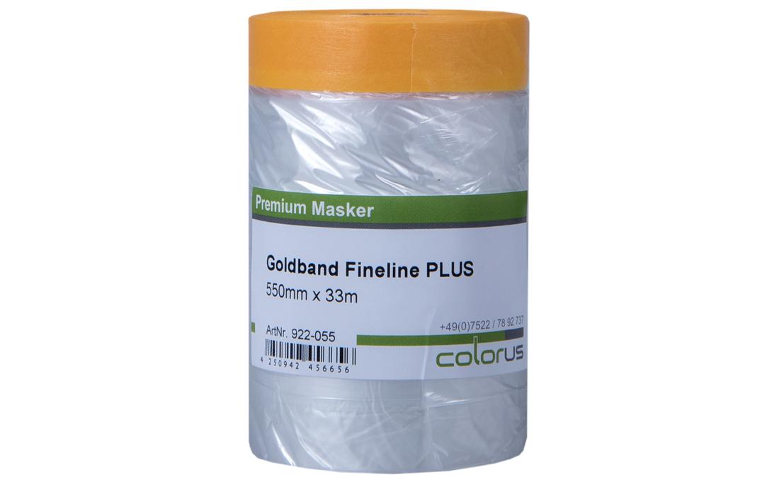 Colorus Masker Tape PLUS Goldband Fineline 55cm x 33m 55cm x 33m