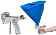 Colorus Putzpistole PLUS für 4 - 13mm Putze + 6 Liter Trichter