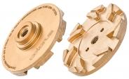Colorus Diamantfrässcheibe gold 115mm (geeignet für Multifräse compact 115)