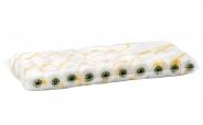 Colorus Gelb Streif BASIC Heizkörperwalze 12mm Flor 10cm