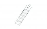 Colorus Metall Farbroller Abstreifgitter PLUS verzinkt 11 x 20cm 11 x 20cm