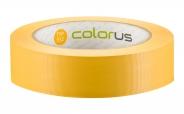 Colorus Putzerband CLASSIC gelb quergerillt 60° 33m 30mm 30mm