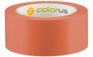 Colorus Putzerband CLASSIC orange glatt 60° 33m