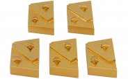 Colorus PKD Schleifschuh Set 5 teilig für Eibenstock EBS 235.1 (Vergleichstyp 37121000)