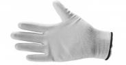 Feinstrickhandschuhe PU Nylon fein weiß XL XL