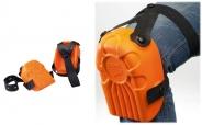 Handwerker Knieschoner Set ERGO PLUS in orange