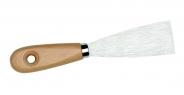 Malerspachtel mit halbflexiblem Stahlblatt