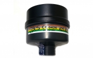 BLS Atemschutz Mehrbereich Vollmasken Kombifilter A2B2E2K2-P3