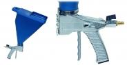 Putzpistole für 4 - 13mm Putze + 6 Liter Trichter