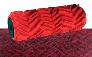 Relief Strukturwalze Streifen Mosaik 18cm