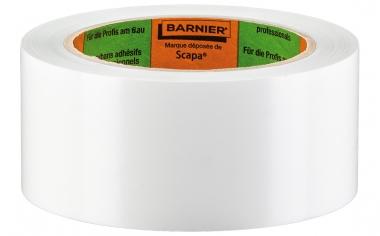 Barnier 6096 weiß Putzerand glatt 50mm x 33m