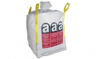 Premium BigBag Asbest 90 x 90 x 110cm belastbar bis 1000kg