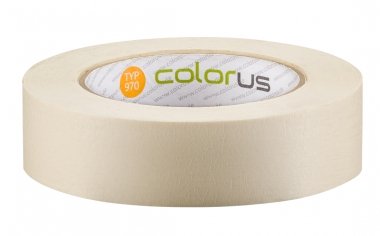 Colorus Feinkrepp PLUS Klebeband 90° 50m 30mm 30mm