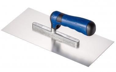 Colorus Glättekelle PLUS Edelstahl 2K Comfort Griff 28 x 13cm
