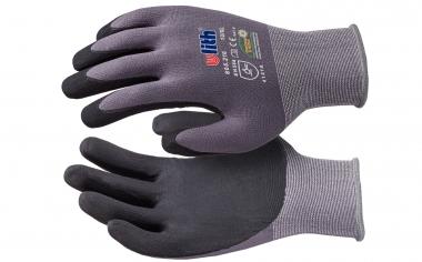Premium Feinstrick Nylon PU Montage Handschuhe